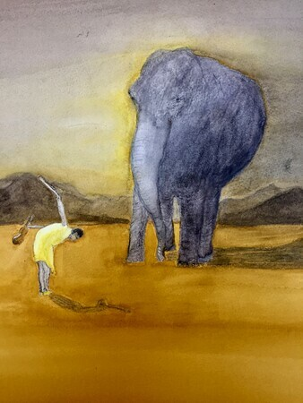 The Elephant and the Violin (Fading Animals Series)
